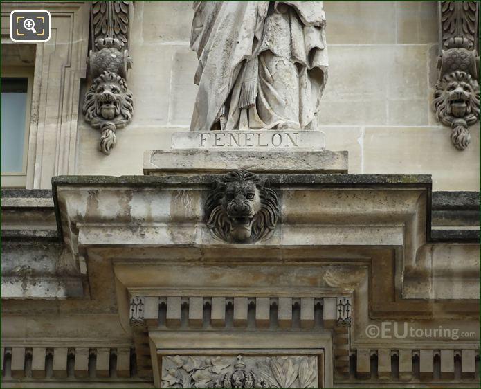 Francois Fenelon Statue Inscription