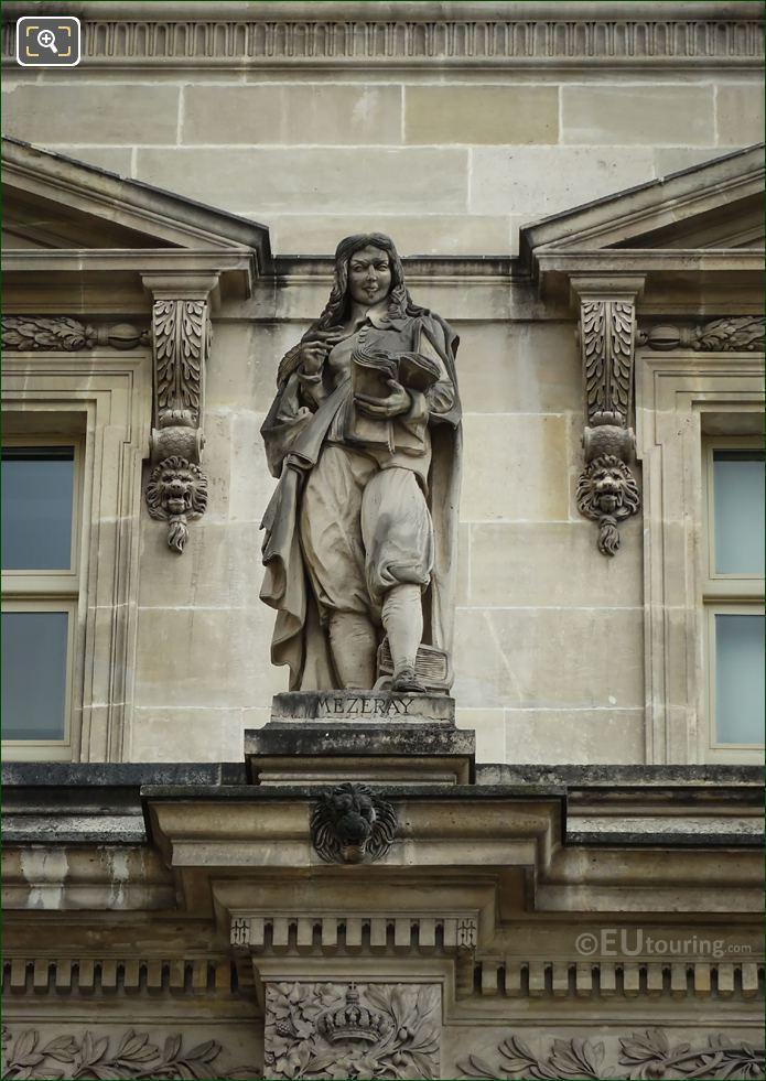 Francois Mezeray Statue By Louis-Joseph Daumas