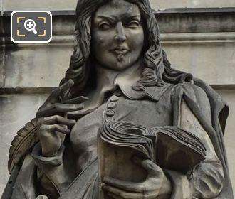 Francois Mezeray Statue Aile En Retour Turgot