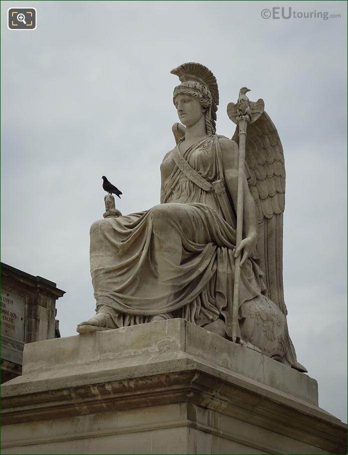 Place Du Carrousel Statue La France Victorieuse