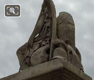 Place Du Carrousel Victorious France Statue