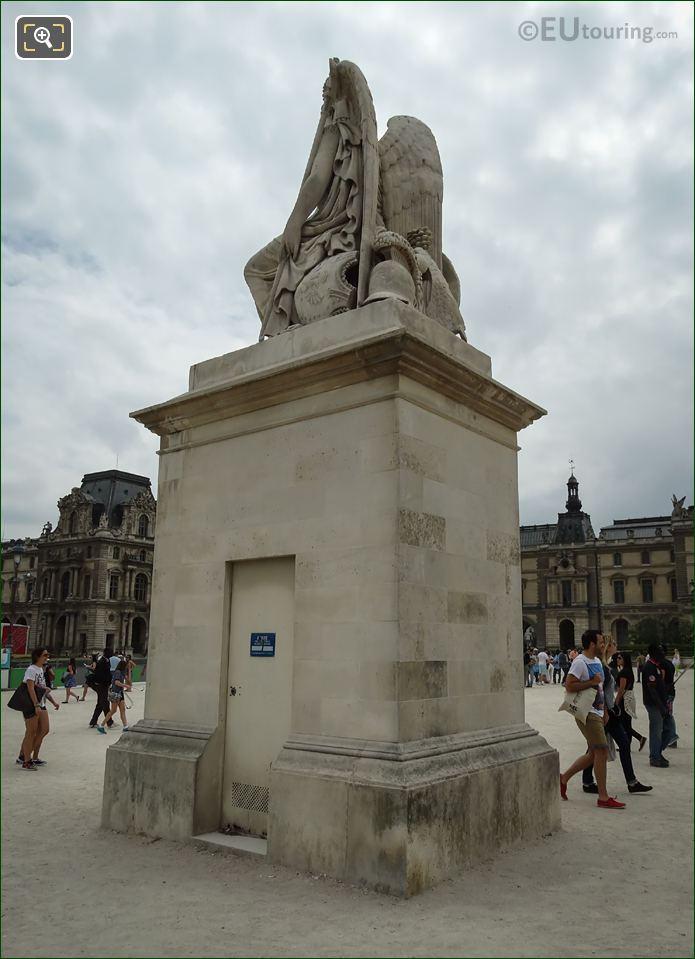 La France Victorieuse Statue North West Corner