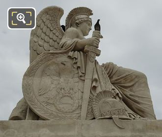 Victorious France Statue Place Du Carrousel