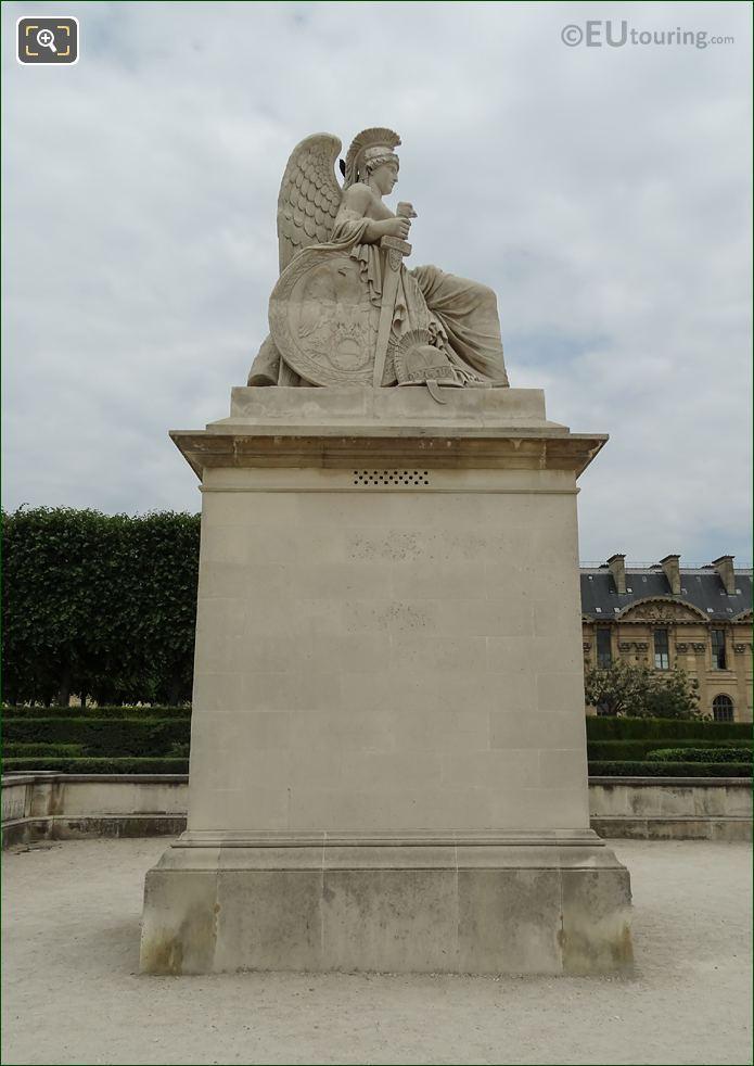 La France Victorieuse Statue South Side