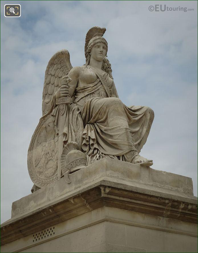 La France Victorieuse Statue By Antoine-Francois Gerard