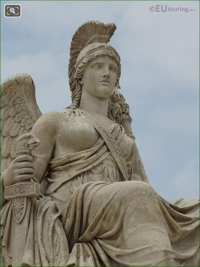Allegory Statue La France Victorieuse