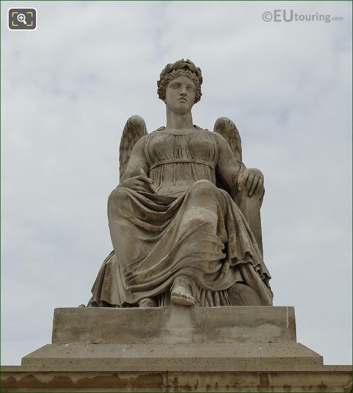 1809 l Histoire Statue By Antoine-Francois Gerard