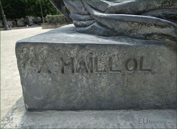 Inscription On Monument Aux Morts De Port Vendres