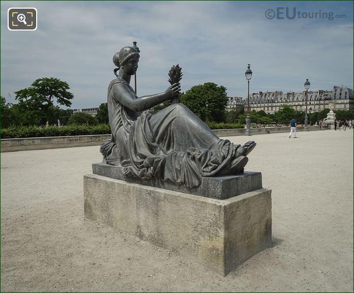 Le Monument Aux Morts De Port Vendres Back View