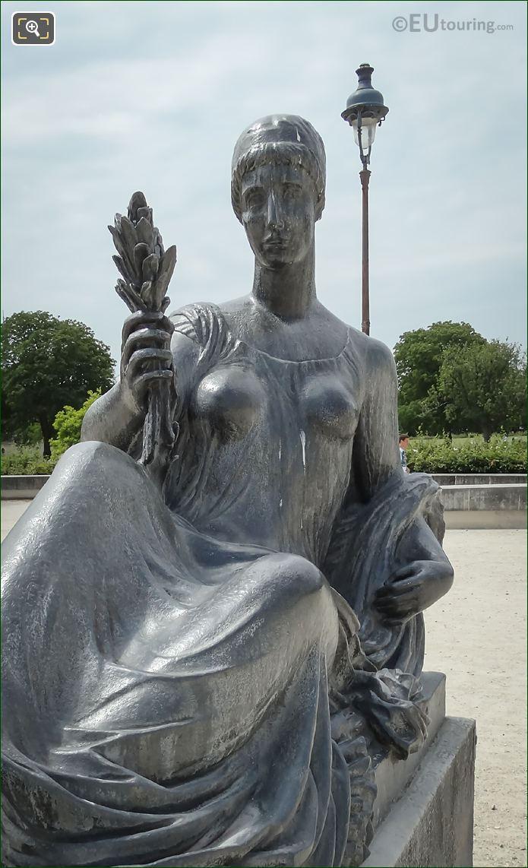 Monument Aux Morts De Port Vendres Female Figure