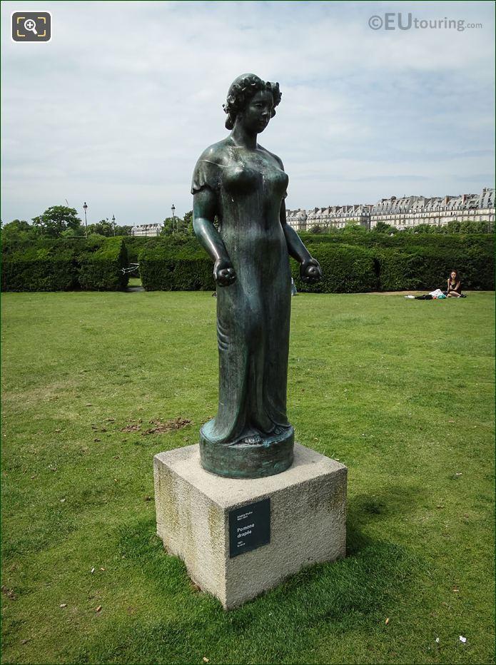 1921 Roman Goddess Of Abundance Statue By Aristide Maillol
