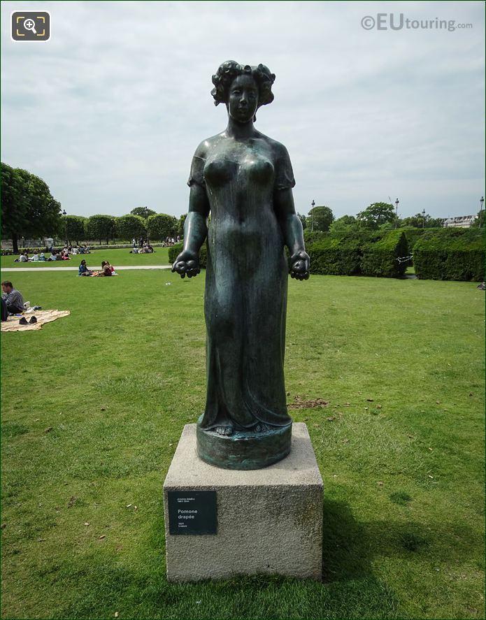 Pomone Drapee Statue By Aristide Maillol
