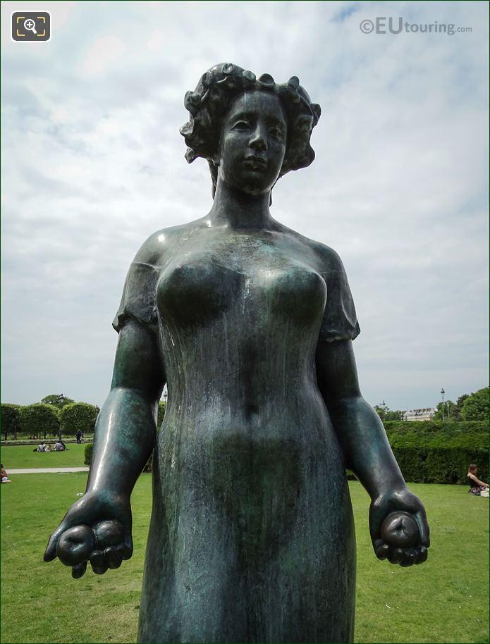 Statue Of The Roman Goddess Pomona By Maillol
