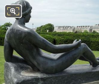 La Jeune Fille Allongee Statue In Paris