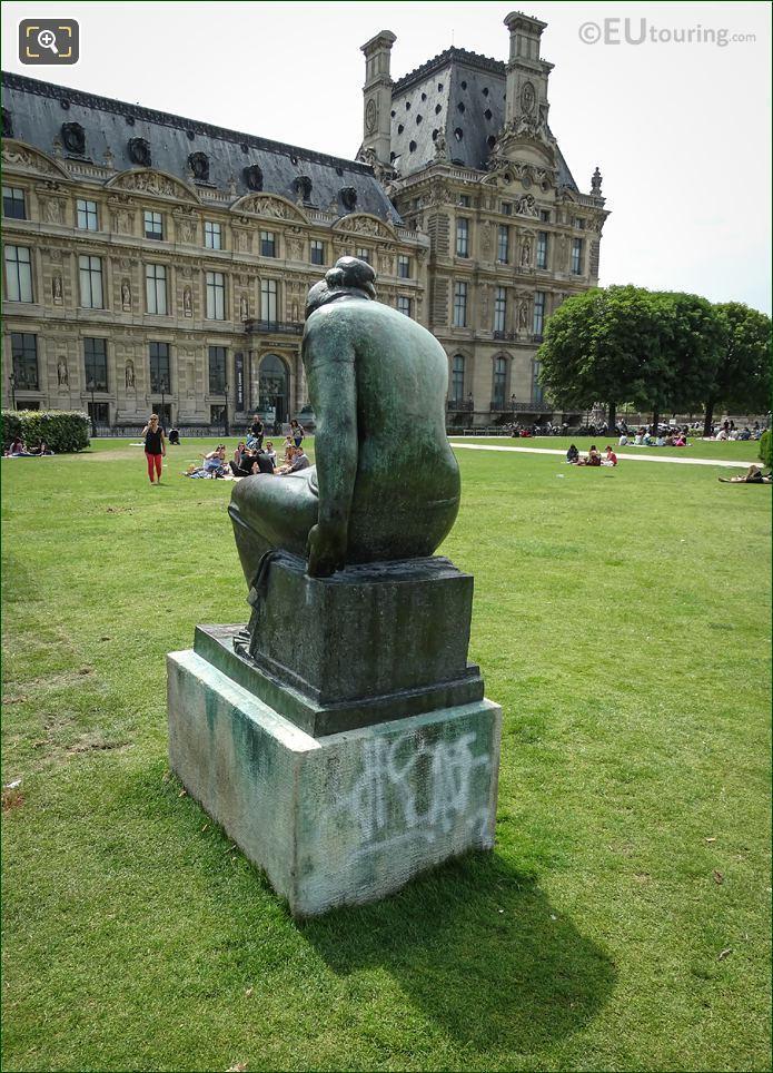 Maillols Statue Douleur Back View
