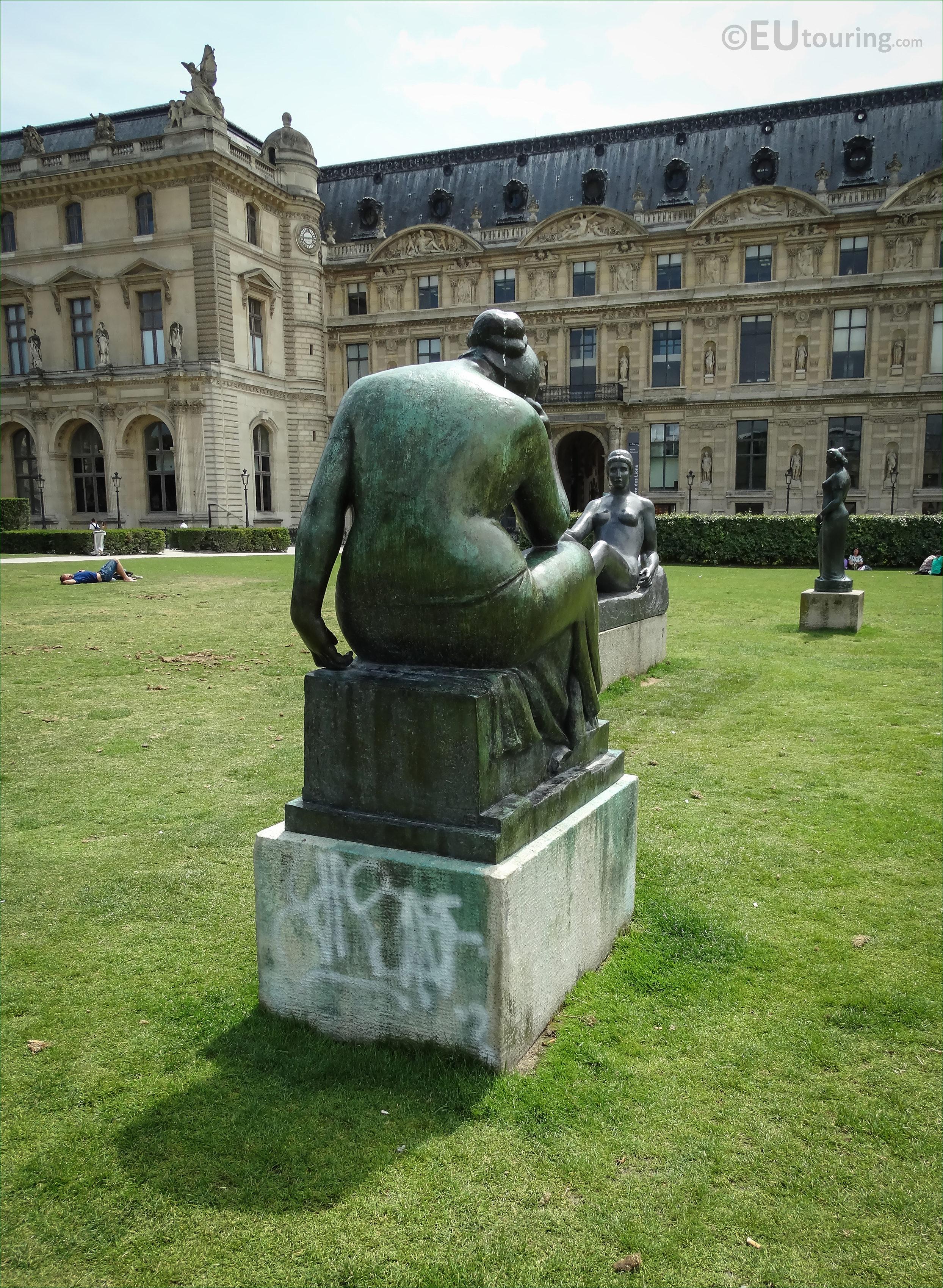 Monument à Cézanne dA. Maillol (Tuileries, Paris)   Flickr