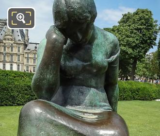 Douleur Statue By Artist Maillol