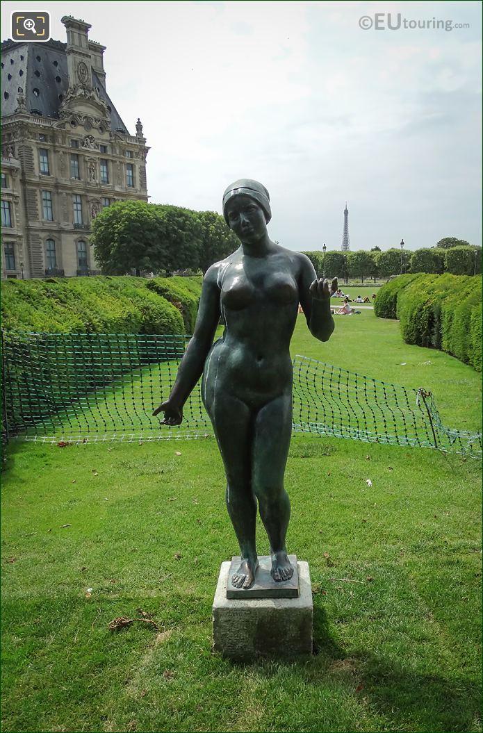 L'Ete Statue Jardin Du Carrousel