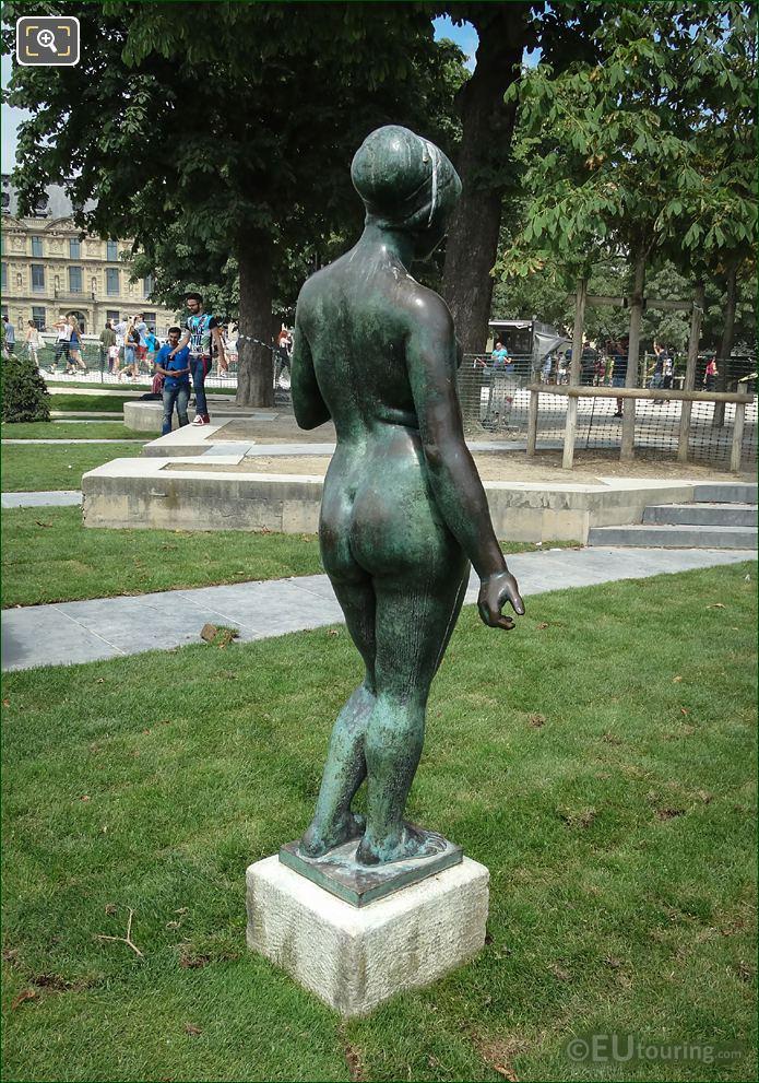 Jardin Du Carrousel L'Ete Statue