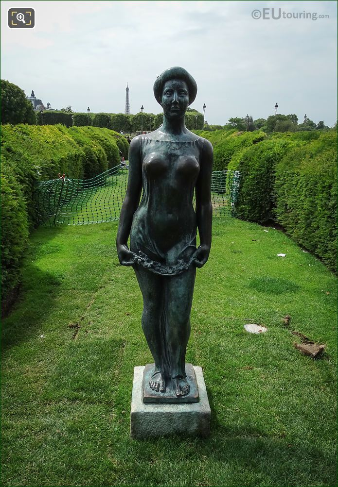 Goddess Of Spring Statue Called Flore