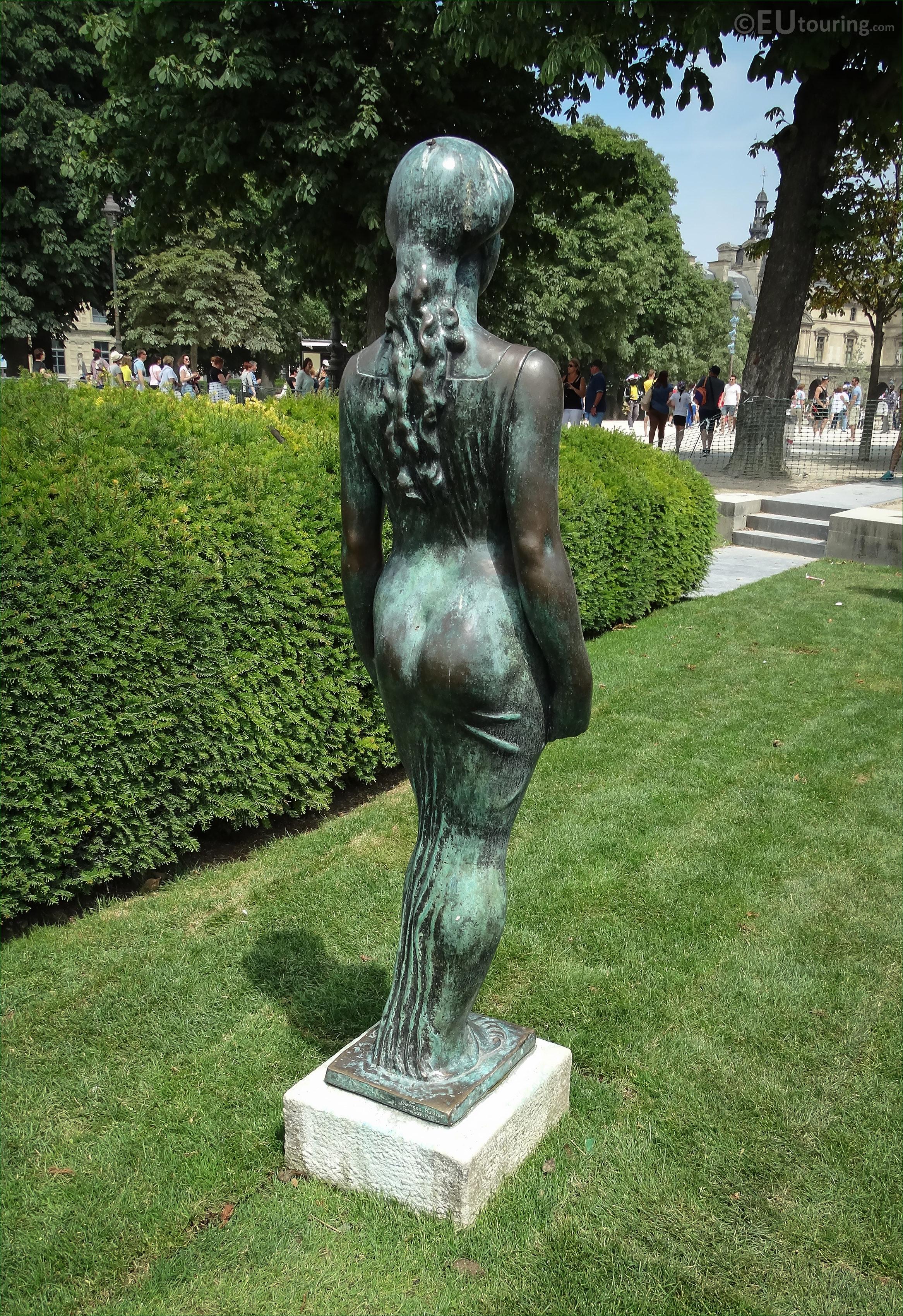 Jardin des Tuileries : Monument à Cézanne, Aristide