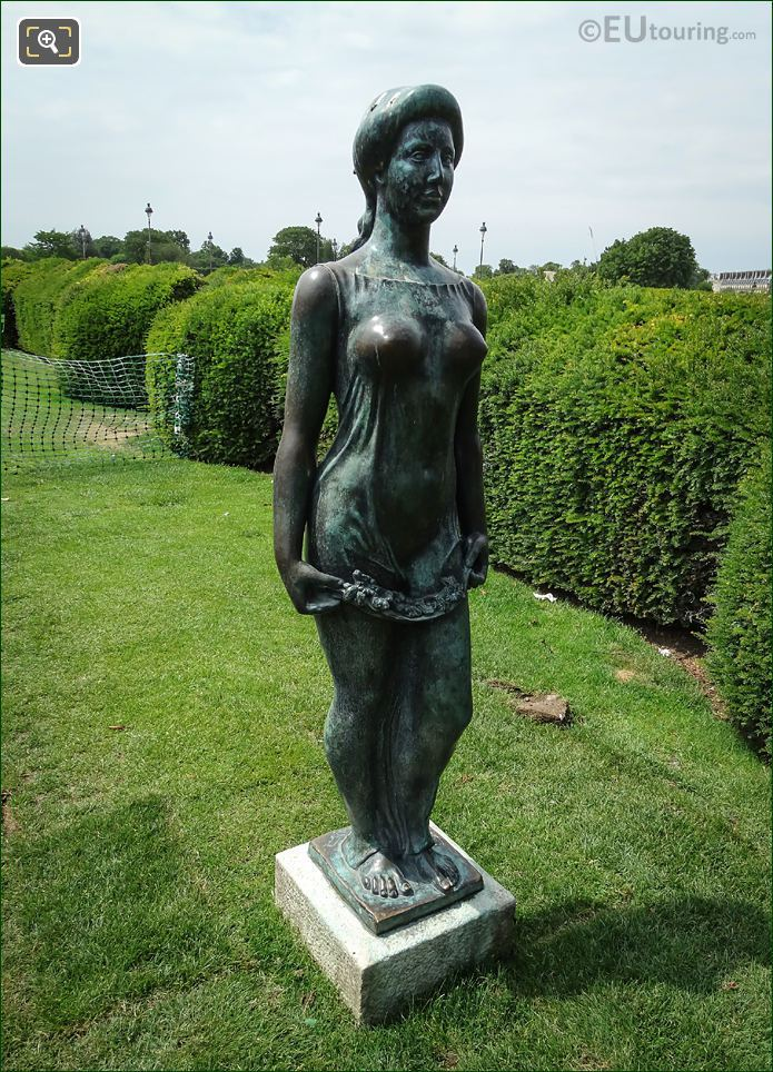 Flore Statue By Aristide Maillol