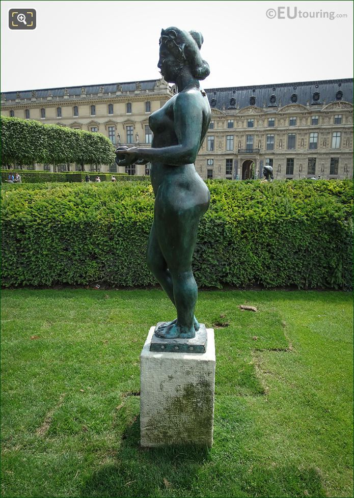 Side View Of Pomone Statue By Maillol