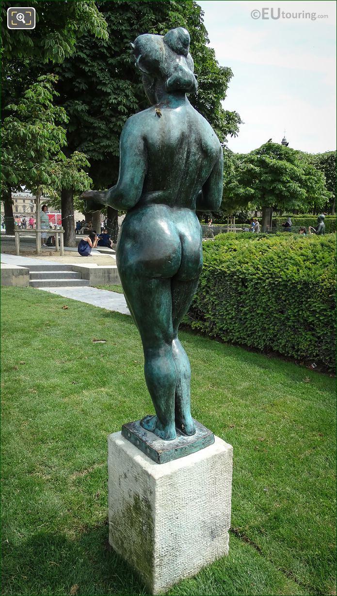 A Maillol Monogram On Pomone Statue