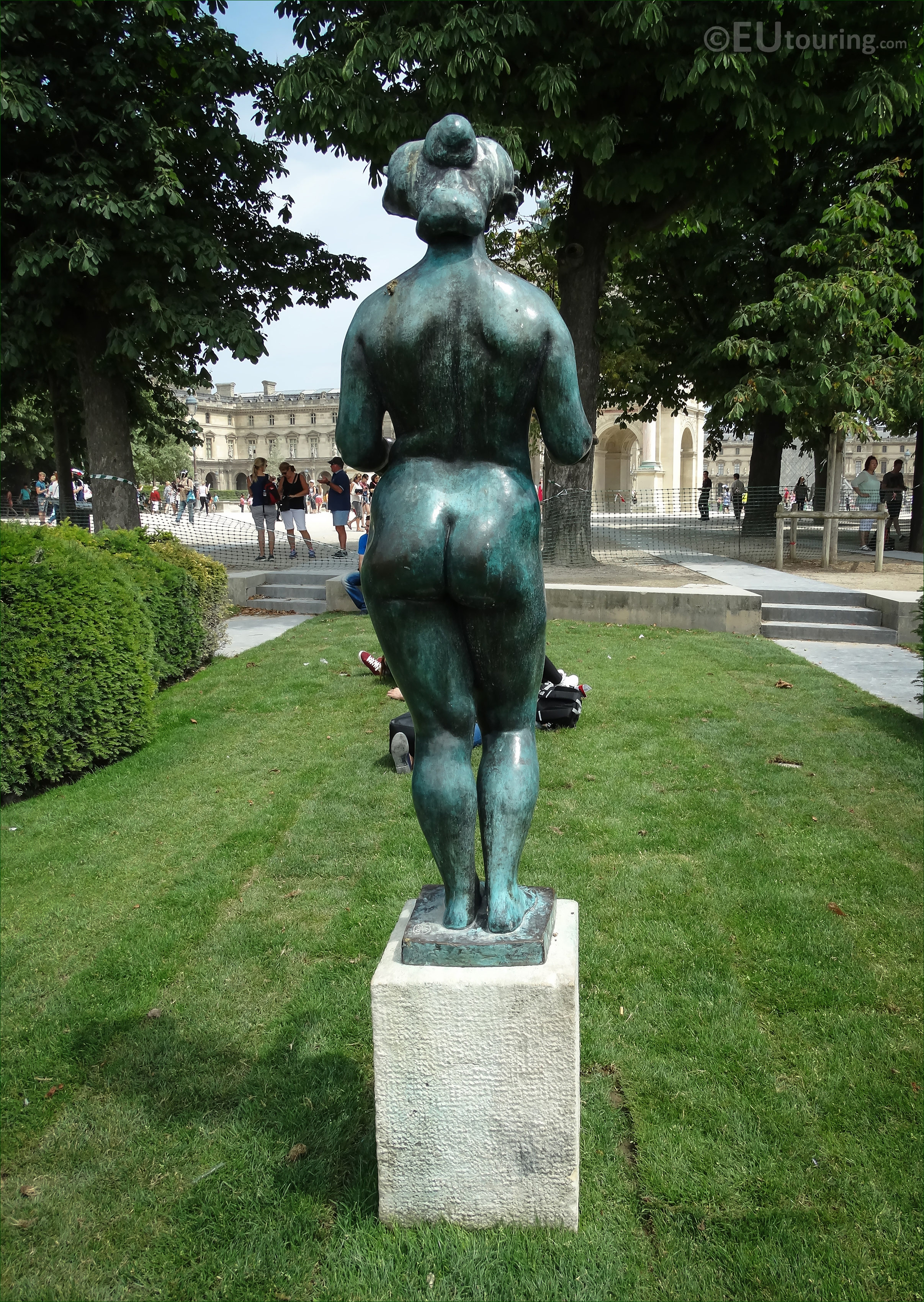 Photos of pomone statue by aristide maillol in paris page 605 - Statue jardin ...