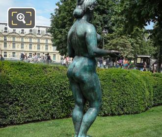 Jardin Du Carrousel Pomone Statue By Maillol
