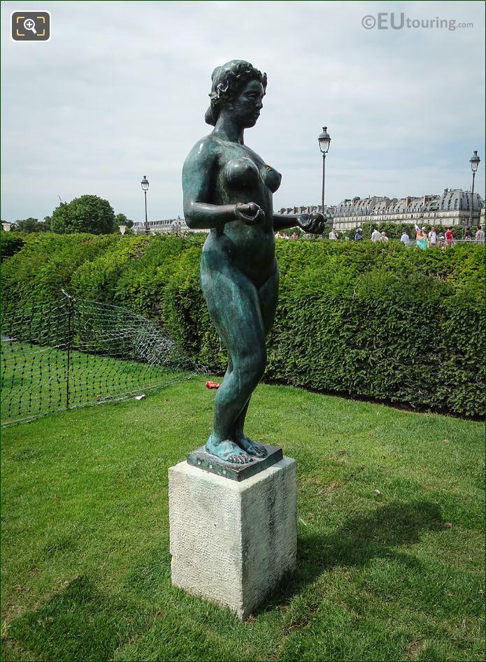 Statue Of Pomone In Jardin Du Tuileries