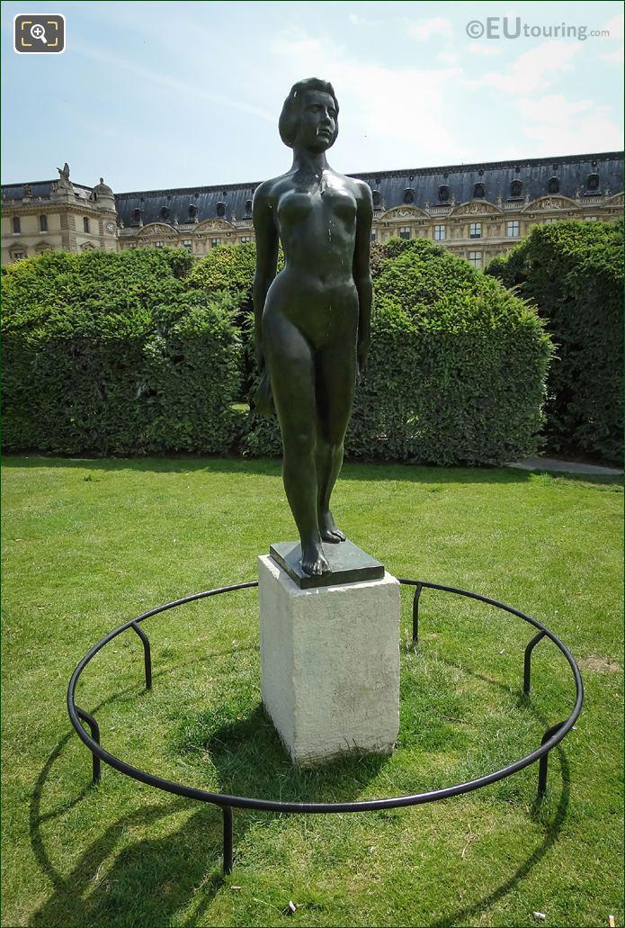 Jardin Du Carrousel Ile De France Statue