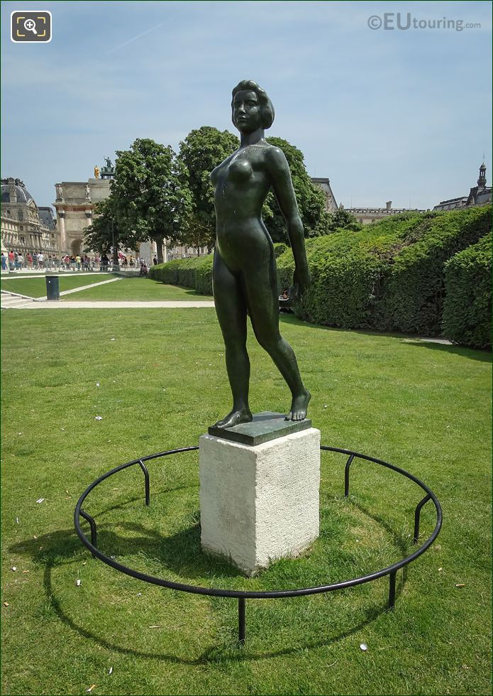 Ile De France Statue By Aristide Maillol
