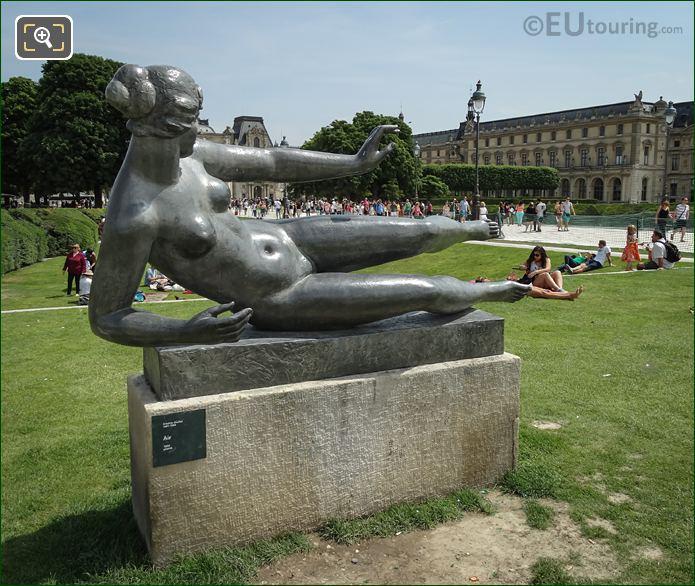 L'Air Statue Musee Du Louvre