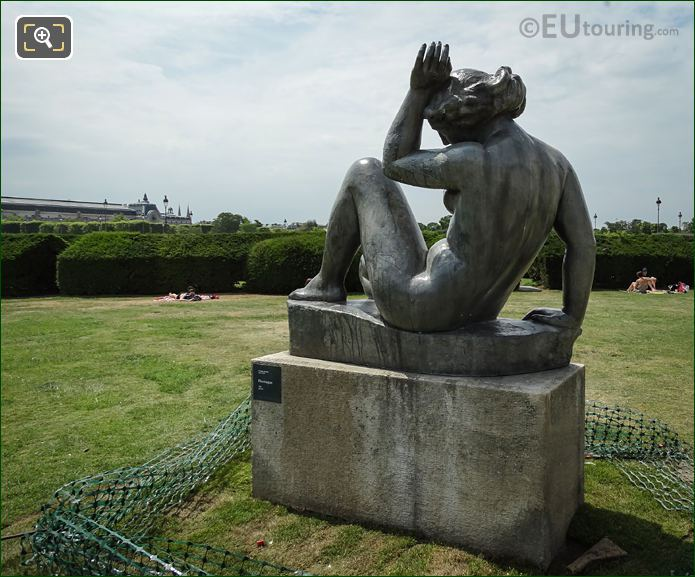 Tuileries Gardens Statue Montagne By Maillol