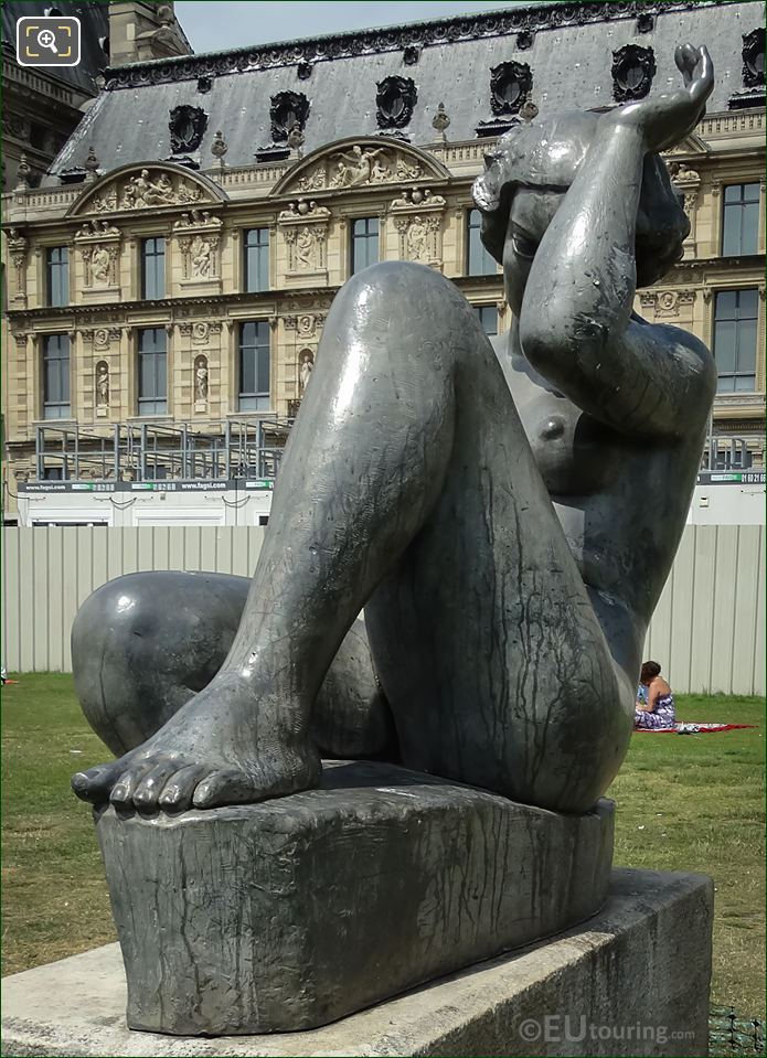 Aristide Maillol Statue Montagne Paris