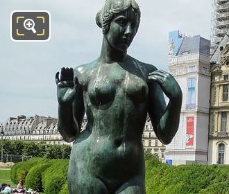 Goddess Of Love Statue By Aristide Maillol
