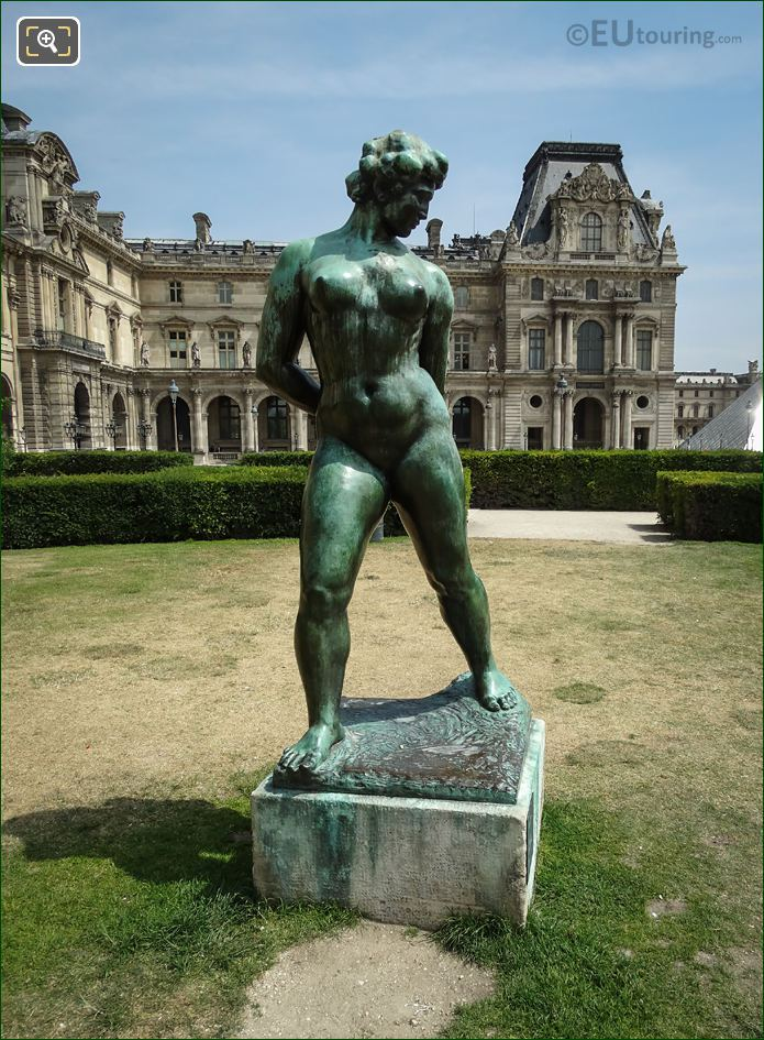 Photos of l 39 action enchainee statue in tuileries gardens - Sculpture jardin des tuileries ...