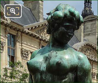 L Action Enchainee Statue Jardin Du Carrousel