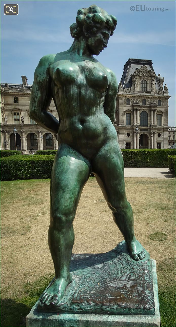 L Action Enchainee Statue By Aristide Maillol