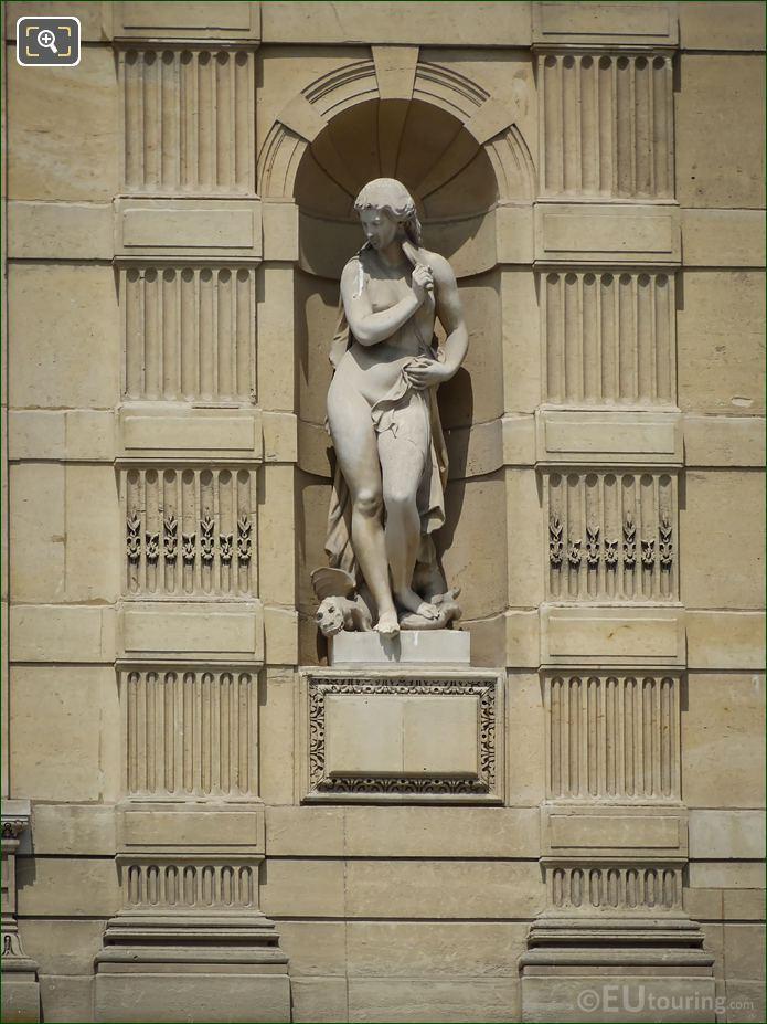 Mythological Statue Aile De Marsan