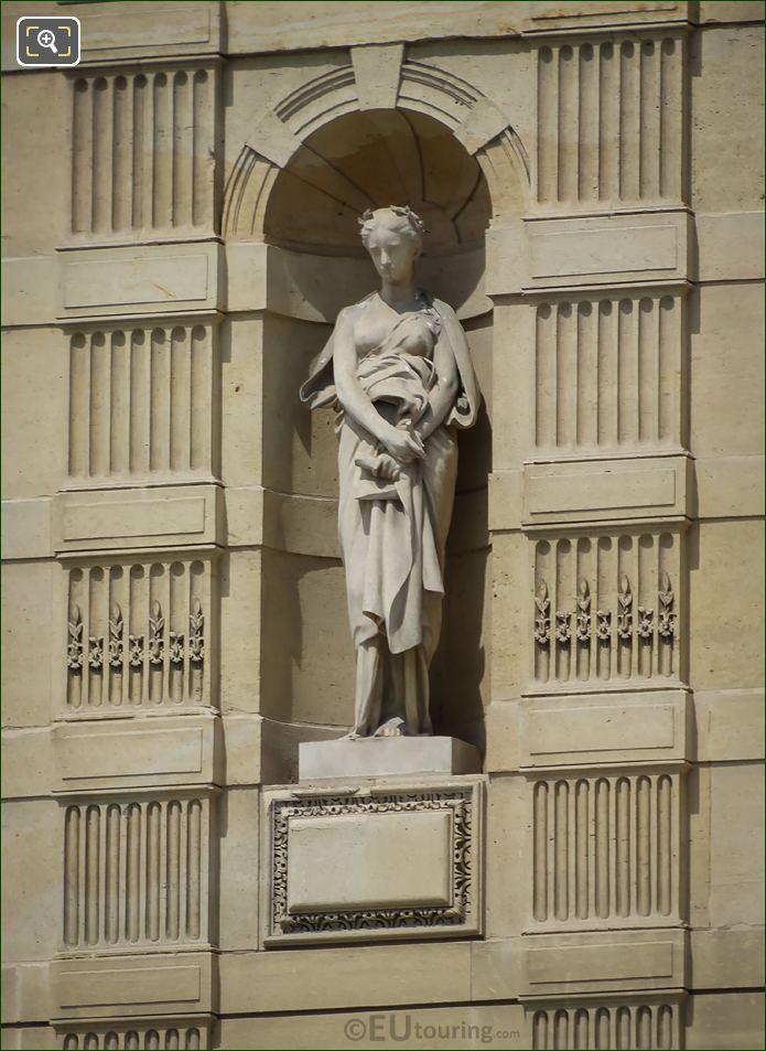 Elegie Statue On Aile De Marsan