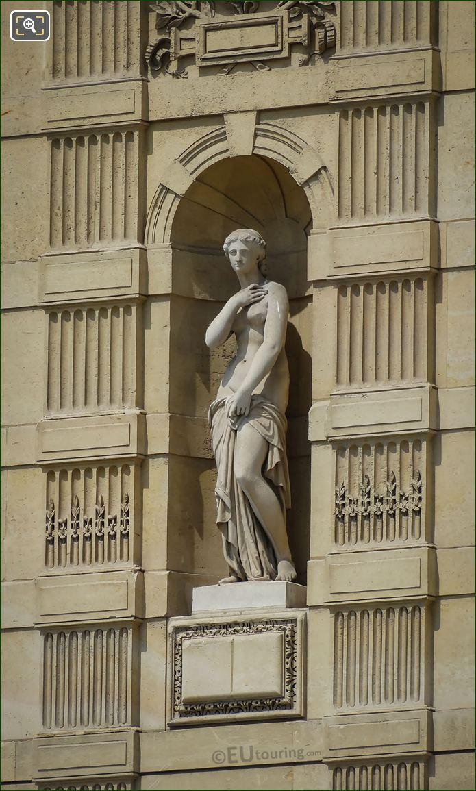 Goddess Of Love Statue On Aile De Marsan