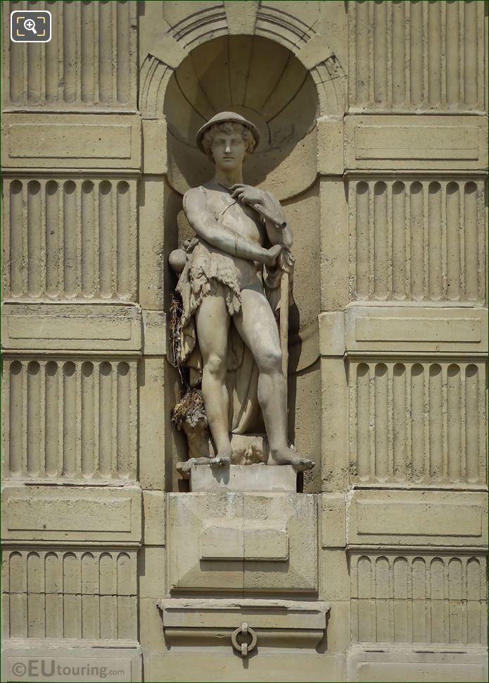 Berger Statue On Aile De Marsan