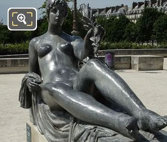 Aristide Maillol Statue Monument A Cezanne