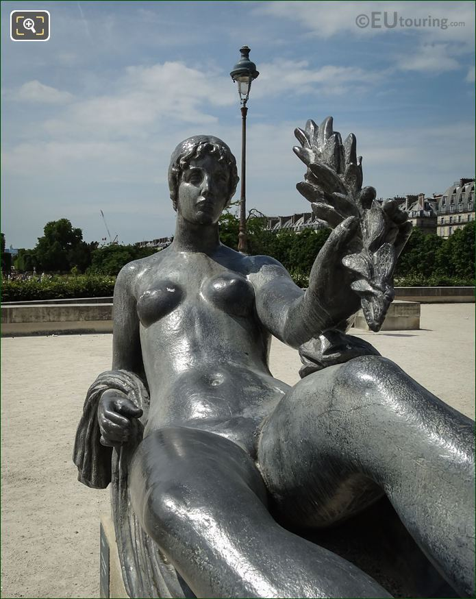 Aristide Maillol Sculpture Monument A Paul Cezanne