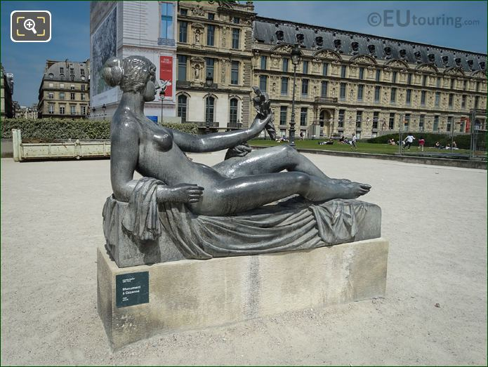 Monument A Cezanne Statue By Aristide Maillol