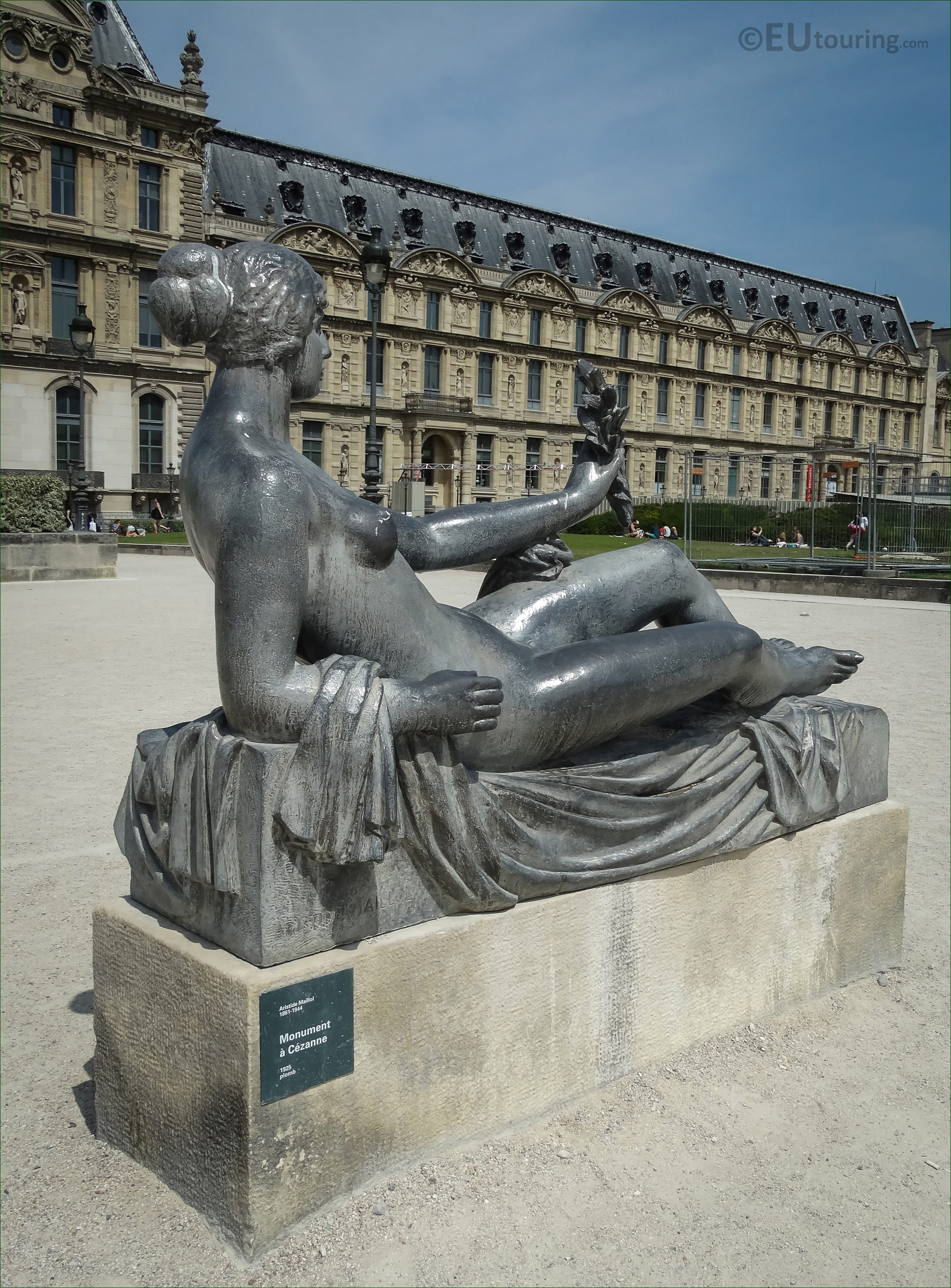 Photos of Monument a Cezanne statue by Aristide Maillol