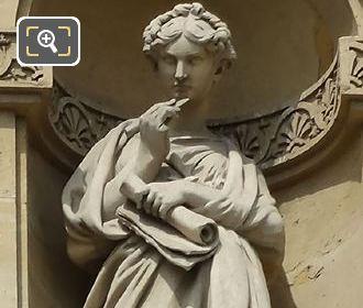 Allegory Statue By Pierre Loison