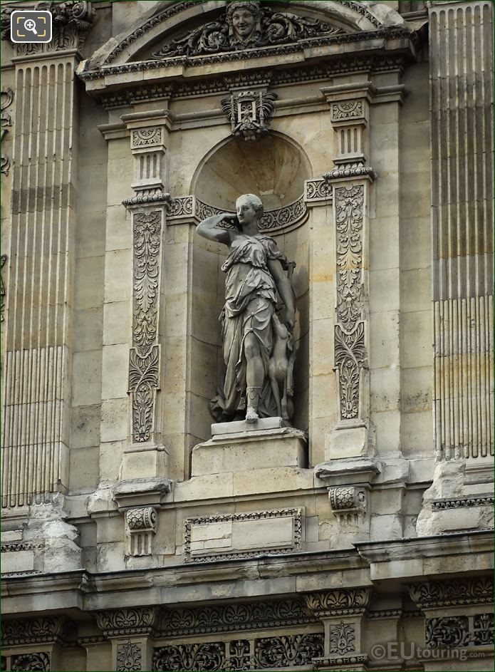 Diana Goddess Of The Hunt Statue Grande Galerie